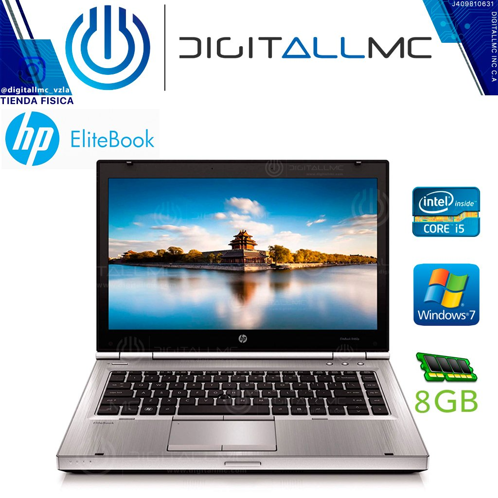 Laptop HP EliteBook 8460p I5 8 Gb ram