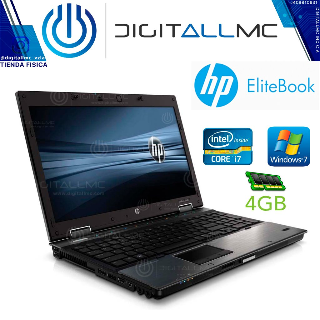 Laptop HP elitebook 8540w i7