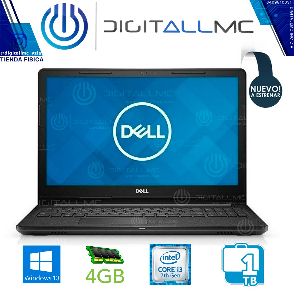 "Laptop Dell Inspiron 15"" 3567 I3 4gb ram"