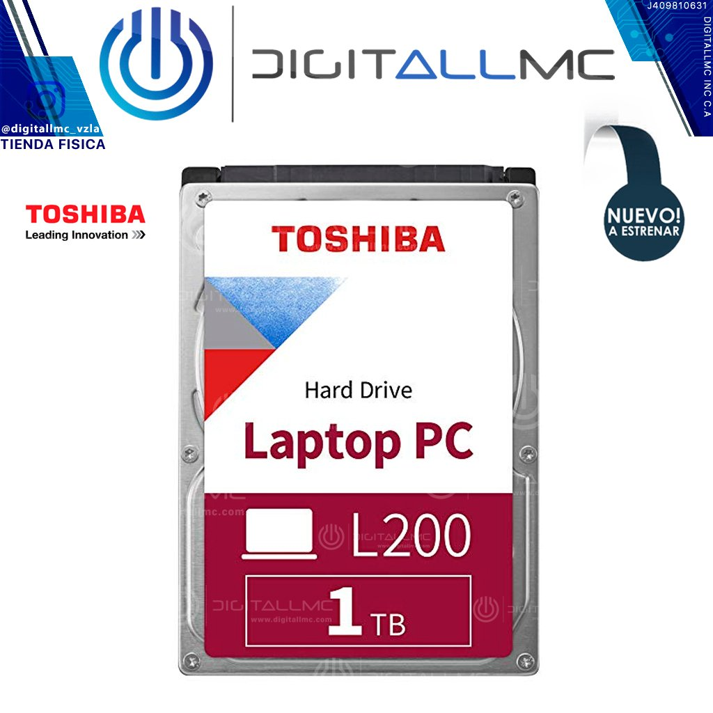 Disco Duro L200 Laptop PC Hard Drive toshiba