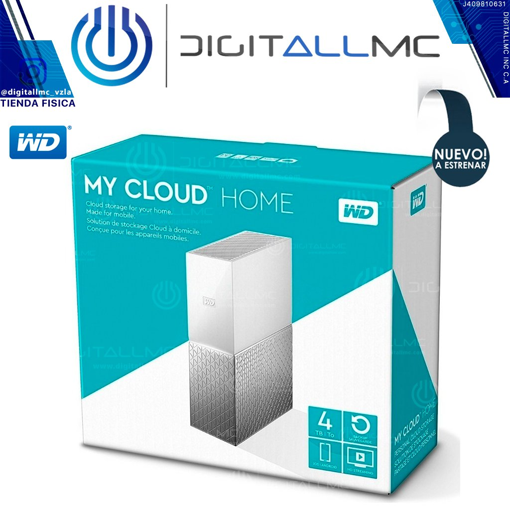 My Cloud Home de WD 4TB