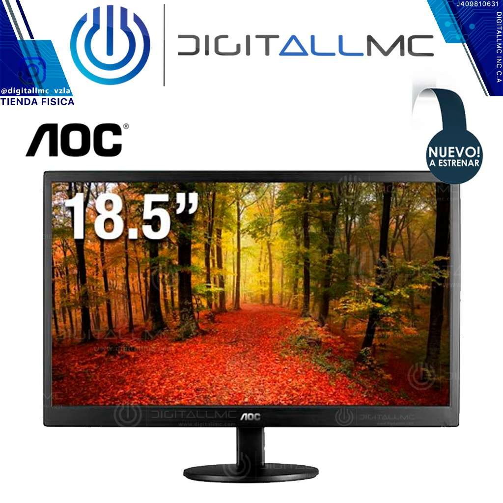 Aoc Monitor E970sw 18.5 Led - 1600x900vga