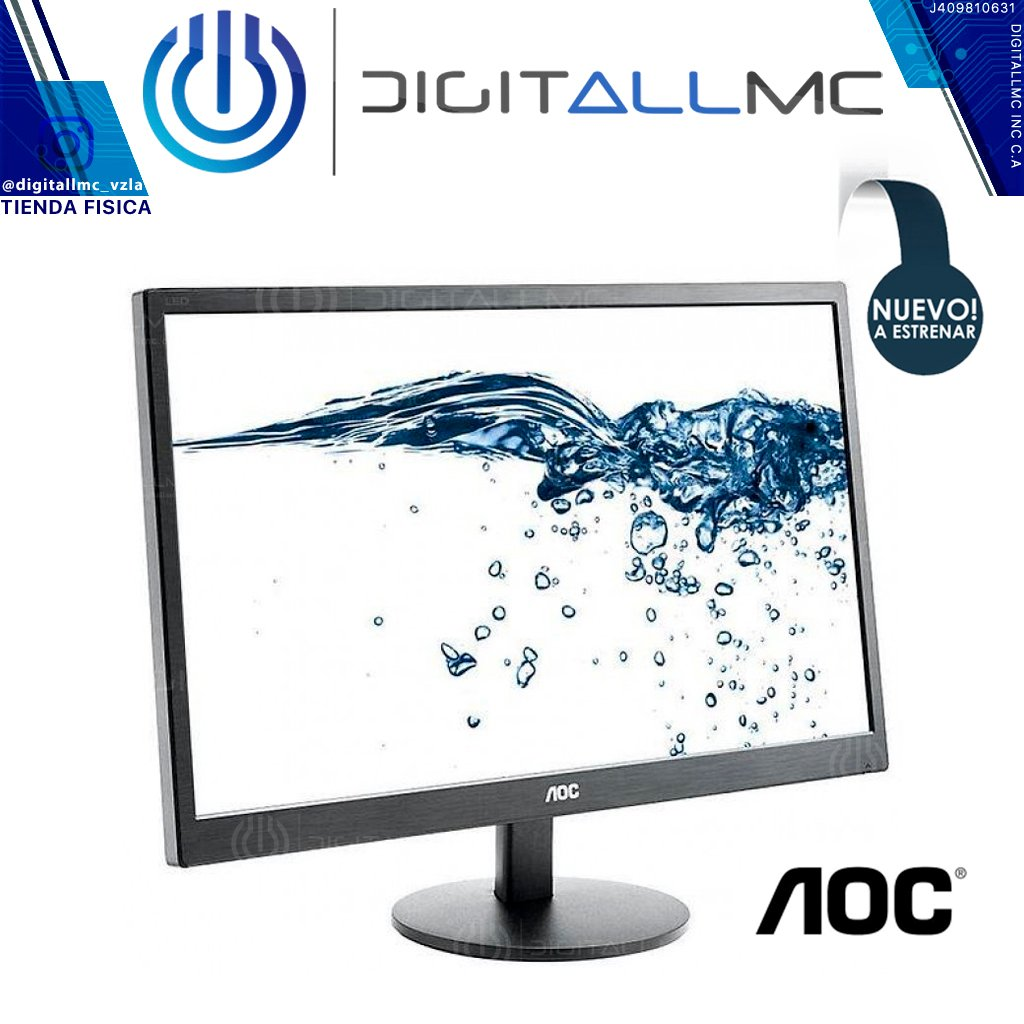 Aoc Monitor E2070sw 19.5 Led - 1600x900vga