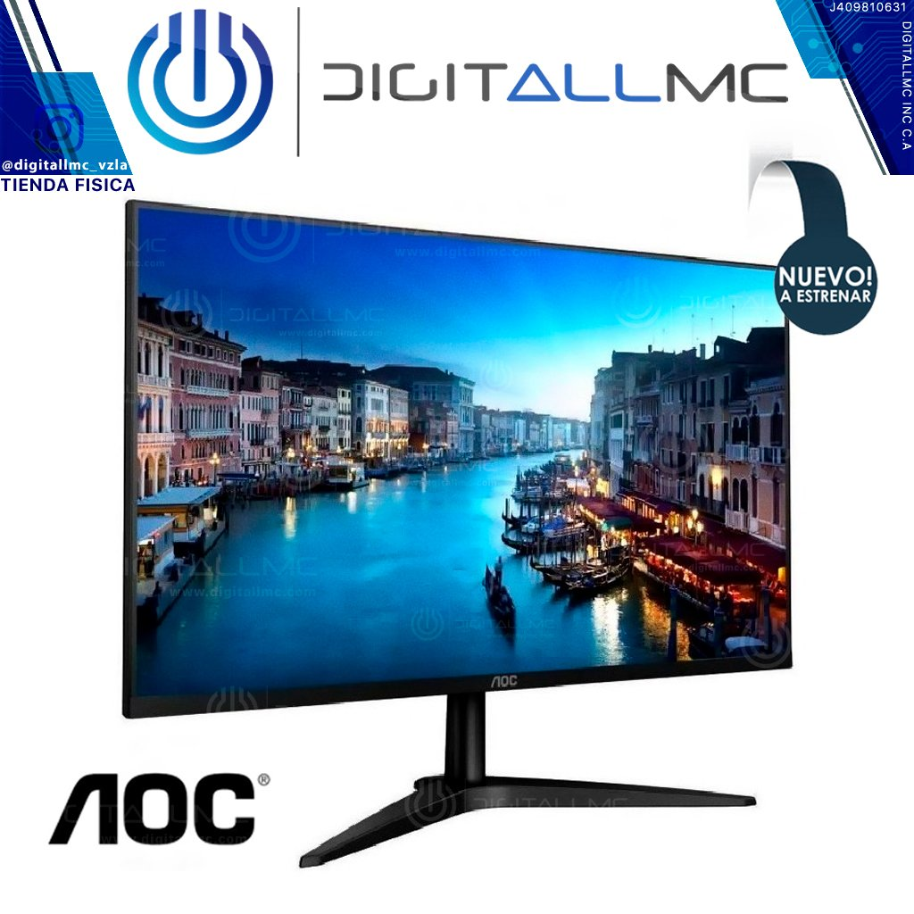"MONITOR AOC 23.6"" LED - 24B1H"