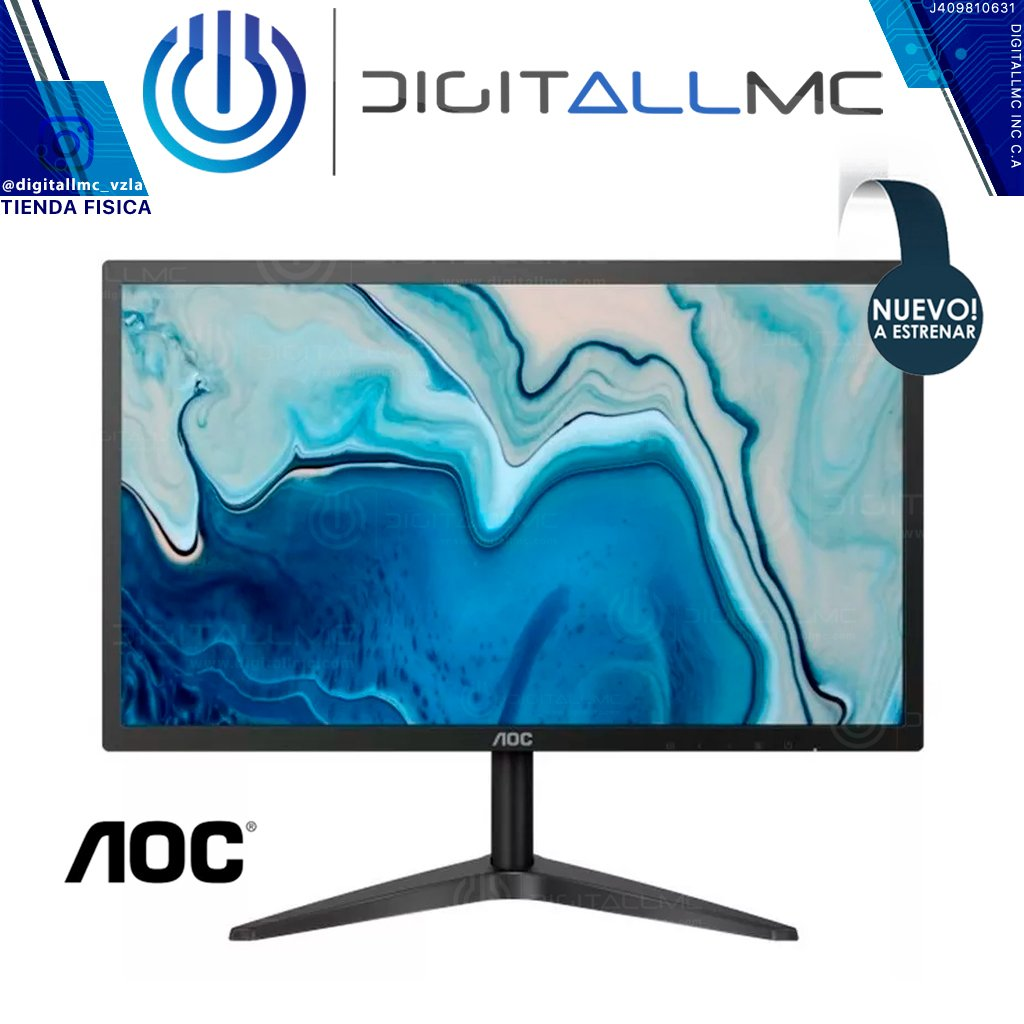 "MONITOR AOC 22B1HS 21.5"" LED IPS FullHD"