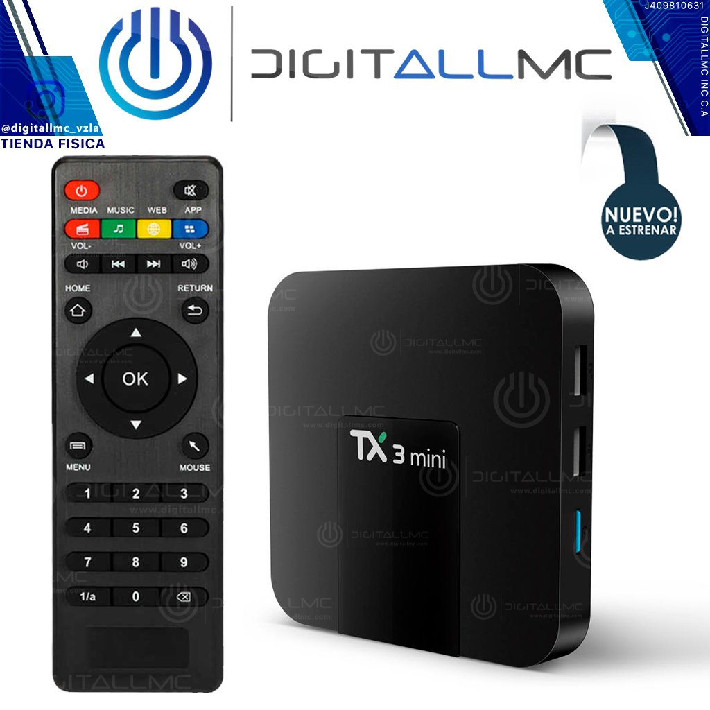ANDROID TV BOX TANIX TX3 MINI 2GB RAM Y 16GB ROM