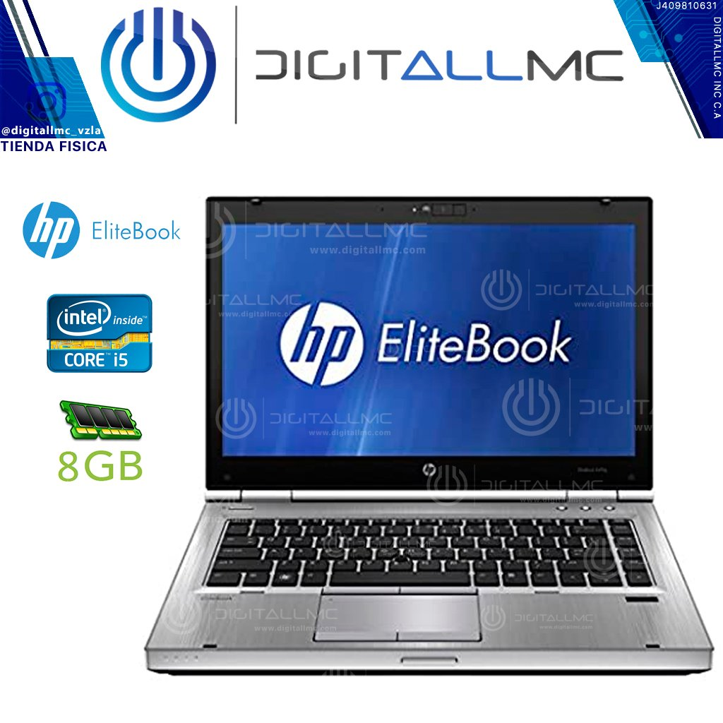 Laptop HP EliteBook 8570P Core i5 3320M, 8GB Windows 10  (REFURBISHED CLASE  A)