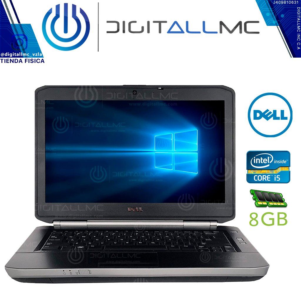 LAPTOP DELL LATITUDE E5430 I5 8GB ram y 500GB DD (refurbis clase A)